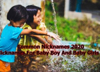 Common Nicknames 2020| Nicknames For Baby Boy And Baby Girls