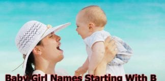 Baby Girl Names New 2020   Baby Girl Names Starting With B
