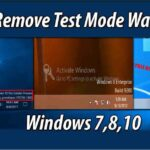 Remove test Mode Watermark without disabling test mode