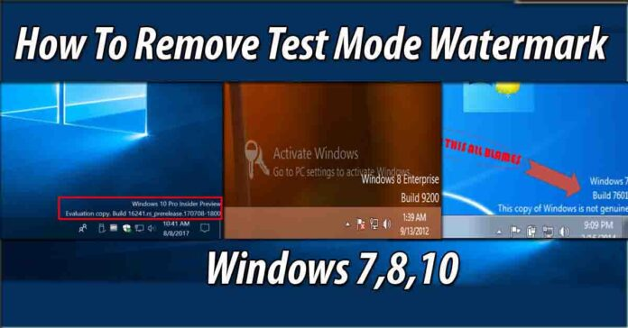 how to remove test mode windows 10 pro build 19041